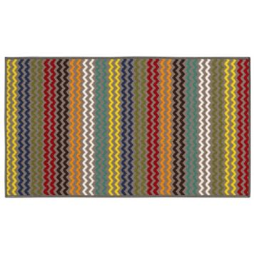 StyleHaven KidsTown Chevron Stripe Rug