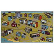 StyleHaven KidsTown Cityscape Rug