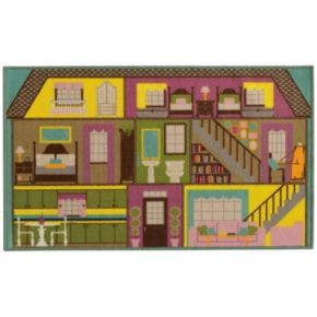 StyleHaven KidsTown Doll House Rug