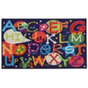 StyleHaven KidsTown Alphabet Rug