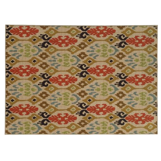 StyleHaven Ariel Abstract Tribal Rug