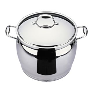 BergHOFF Zeno 10.6-qt. Stainless Steel Covered Stockpot