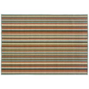 StyleHaven Montgomery Striped Indoor Outdoor Rug
