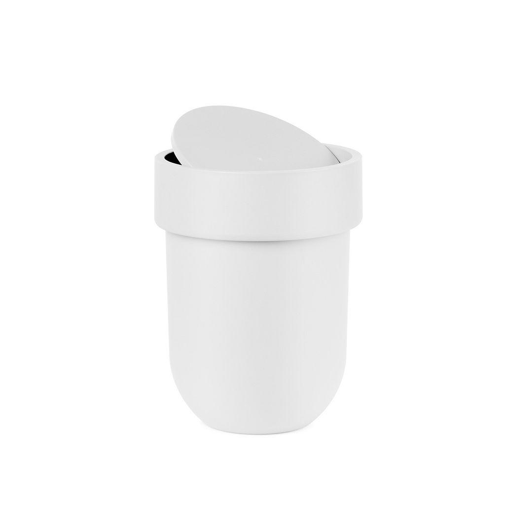 Umbra Touch Lidded Wastebasket
