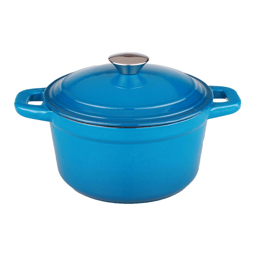 BergHOFF Neo 7-qt. Cast Iron Covered Stockpot