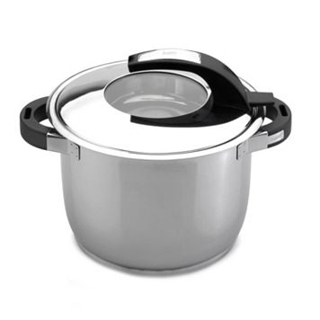 BergHOFF Virgo 7-qt. Stainless Steel Covered Stockpot