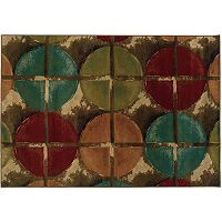 StyleHaven Elliott Brown Geometric Rug