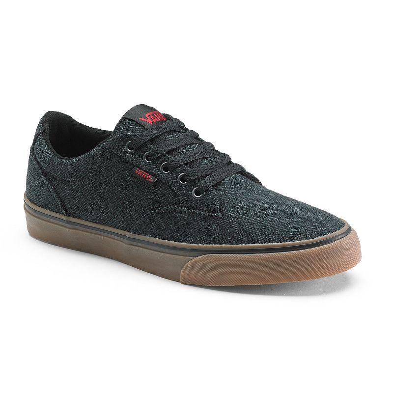 Mens Black Vans Canvas Skate Shoes At Kohl S
