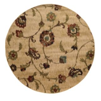 StyleHaven Henderson Tan Floral Rug