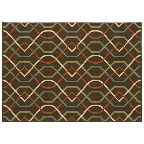 stylehaven montgomery geometric indoor outdoor rug 87756