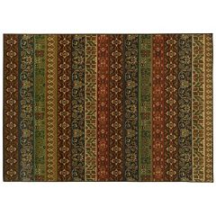 StyleHaven Parson Floral Stripe Rug