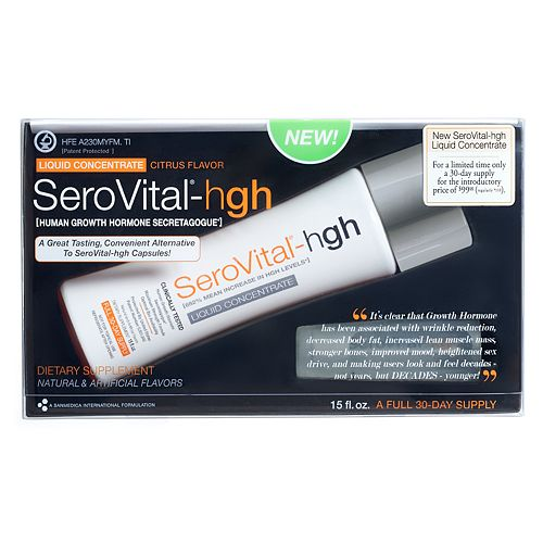 SeroVital-hgh Liquid Concentrate Dietary Supplement