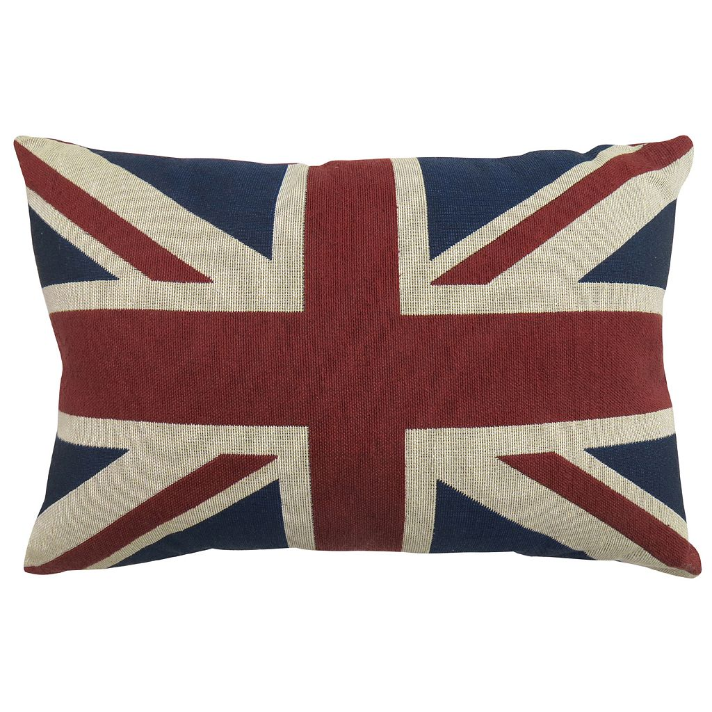 Park B. Smith Union Jack Throw Pillow