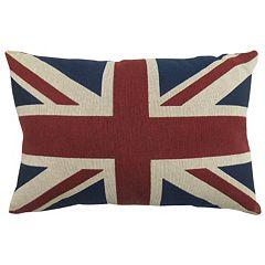 Park B. Smith Union Jack Throw Pillow