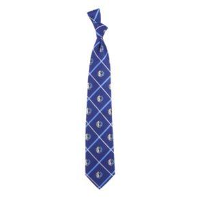 Dallas Mavericks Silver Line Silk Tie