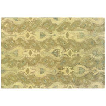 StyleHaven Anna Abstract Ikat Wool Rug