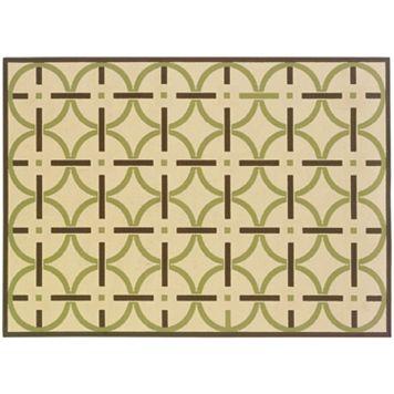 StyleHaven Montgomery Geometric Line Indoor Outdoor Rug
