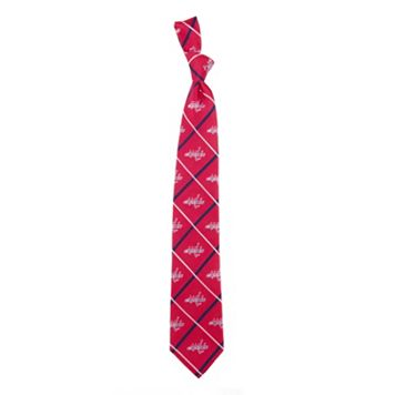 Washington Capitals Silver Line Silk Tie