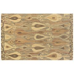 StyleHaven Anna Gray Abstract Ikat Wool Rug