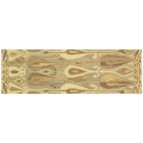 StyleHaven Anna Gray Abstract Ikat Wool Rug