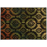 StyleHaven Parson Ikat Floral Rug