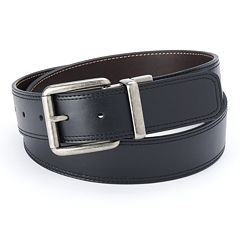 Men's Croft & Barrow Cut-Edge Reversible Belt