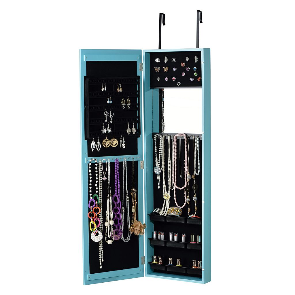InnerSpace Mirror Jewelry Armoire