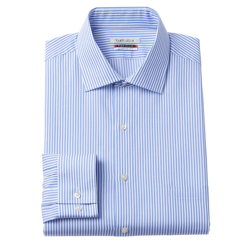 All day dress shirt kohl 39 s for Van heusen shirts flex collar