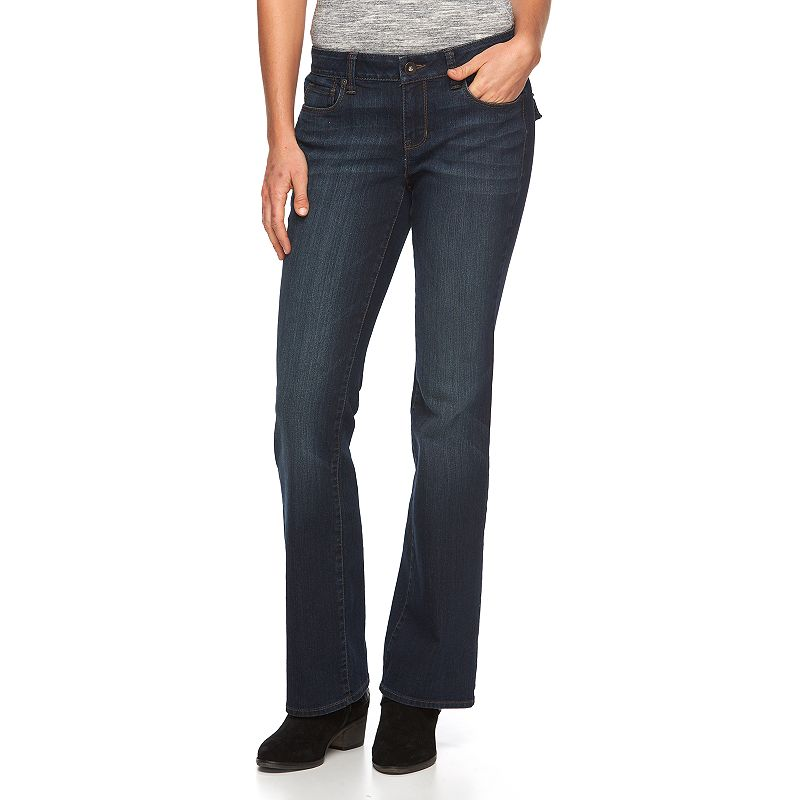 Women's SONOMA Goods for Life™ Faded Bootcut Jeans