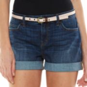 LC Lauren Conrad Relaxed Cuffed Jean Shorts - Women's