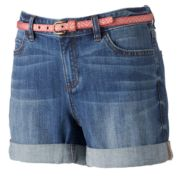 LC Lauren Conrad Relaxed Cuffed Jean Shorts - Women's