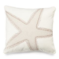 Belize Starfish Throw Pillow