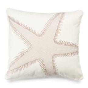 Belize Starfish Throw Pillow
