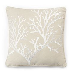 Bahamas Coral Throw Pillow