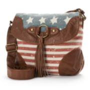 Mudd® Jessie Patriotic Crossbody Bag