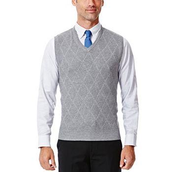 Haggar Mens V-Neck Sweater Vest