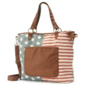 Mudd® American Flag Convertible Tote