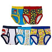 Boys 4-8 Pokemon 5-Pack Briefs