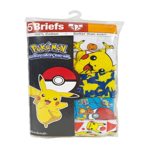 Boys 4-8 Pokemon 5-Pack Briefs