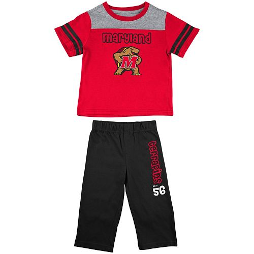 377323b50 Baby Maryland Terrapins Passer Tee & Pants Set