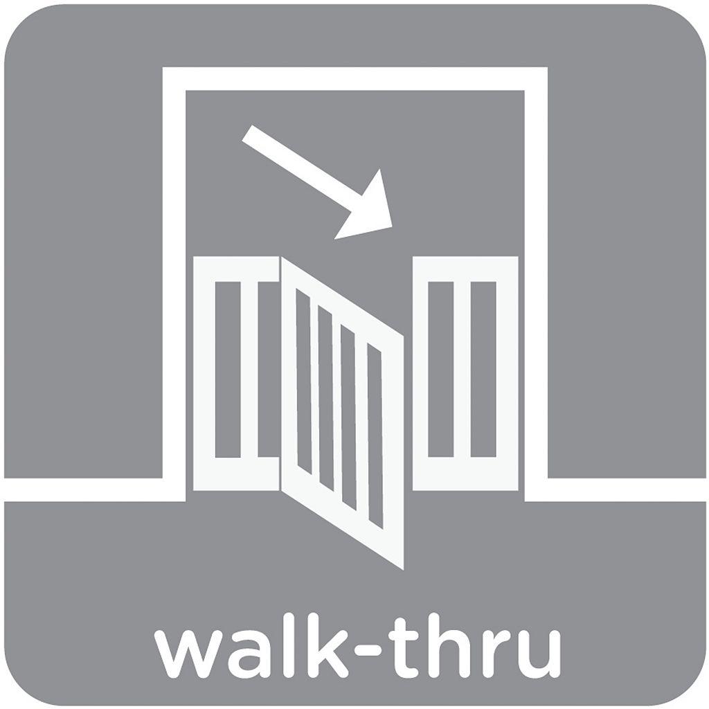 Summer Infant Extra-Tall 36'' Walk Thru Safety Gate