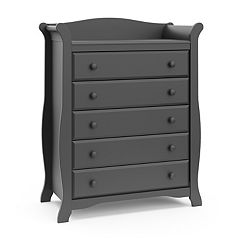 Stork Craft Avalon 5-Drawer Dresser