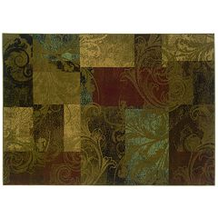 StyleHaven Henderson Floral Block Rug