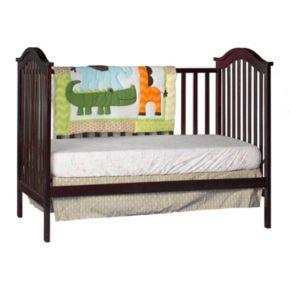 Stork Craft Hampton 2-in-1 Fixed Side Convertible Crib