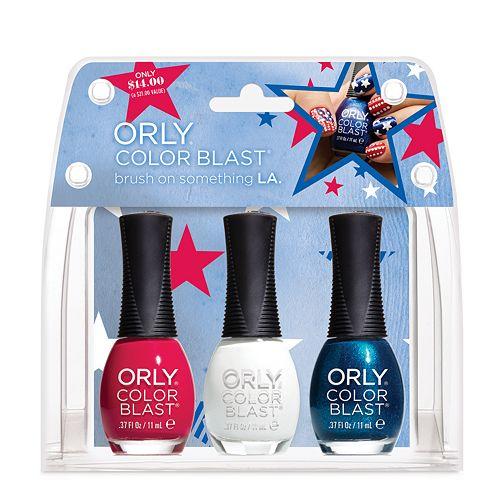 Orly Color Blast 3-pc. American Nail Polish Gift Set