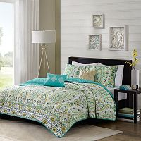 Intelligent Design Ellie Reversible Coverlet Set