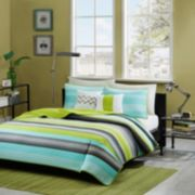 Intelligent Design Jesse Reversible Coverlet Set