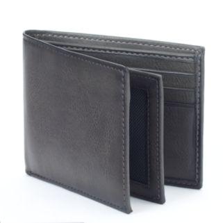 Apt. 9® RFID-Blocking Extra-Capacity Bifold Wallet - Men