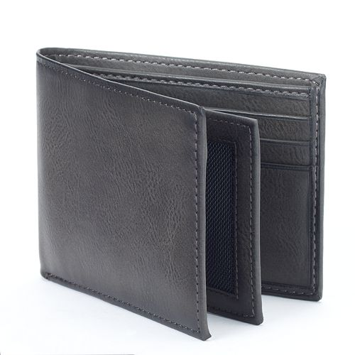 Apt. 9® RFID-Blocking Extra-Capacity Bifold Wallet - Men
