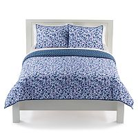 The Big One® Floral Reversible Quilt Set